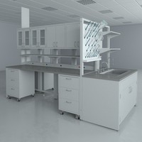 Lab Furniture Typical Set 2