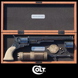 3d model of colt paterson