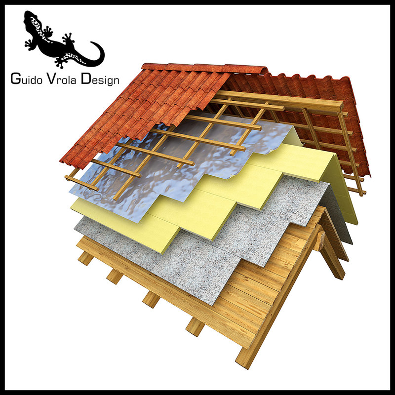 insulated roof 3d 3ds