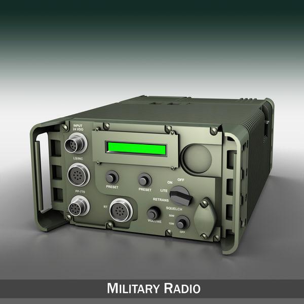3d uhf military data radio