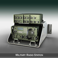 Military Radio 3D Models for Download | TurboSquid