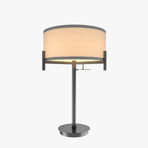 3d model contemporary table lamp
