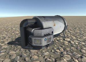 cistern 3d model