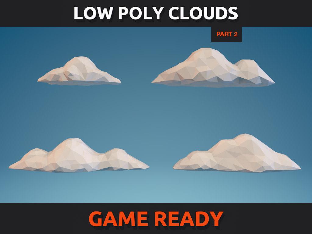 3d model clouds