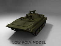 Low poly BMP-2