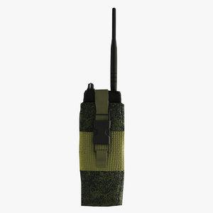 3d max radio military
