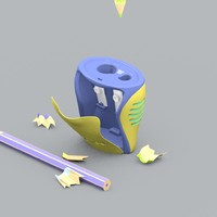 3d sharpener maped