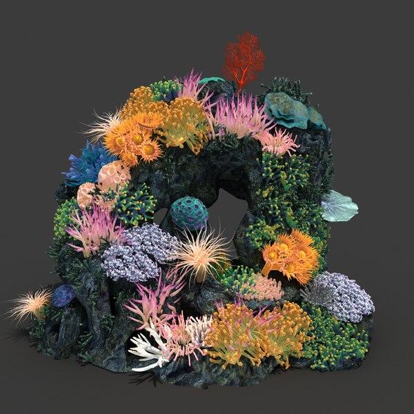 coral 3d max