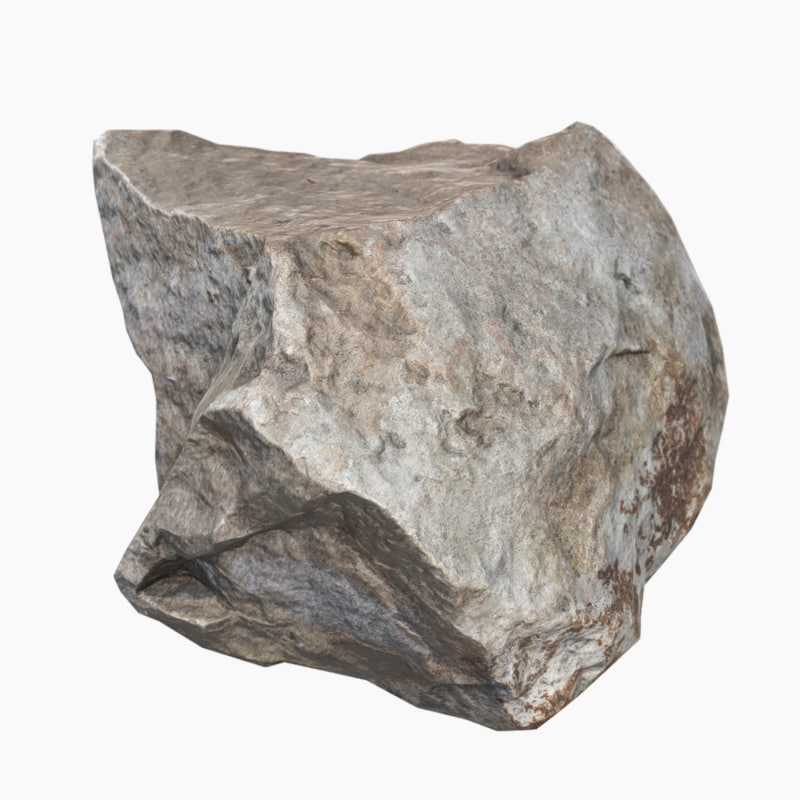 3d obj stone scan