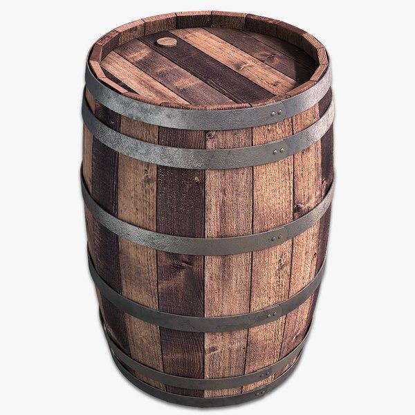 wooden barrel max