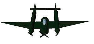 p-38 lightning fighter plane 3d obj