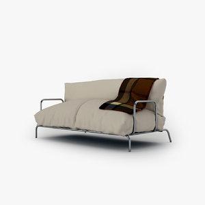 3d model relax sofa