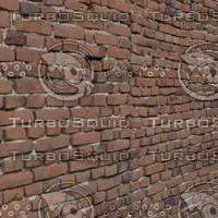 Wall 2 - Red bricks