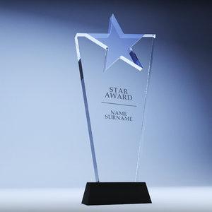 trophy award cup 09 max