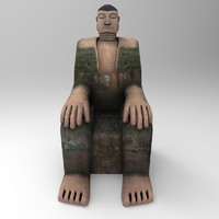 3d giant buddhastatue