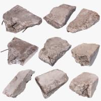Concrete Debris Pack