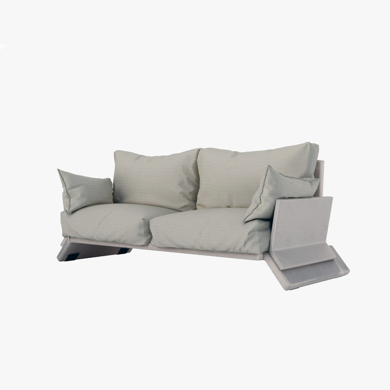 relax sofa 3d max