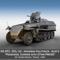 sd kfz 251 10 3ds