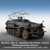 sd kfz 251 3 obj