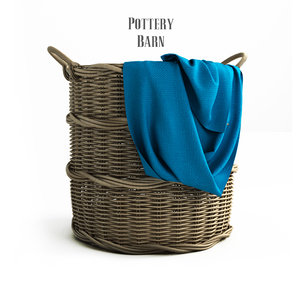 3ds pottery barn chelsea woven