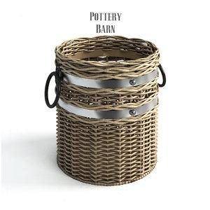 pottery barn cask crocks 3ds