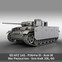 3d iii - ausf m model