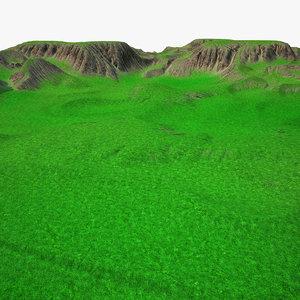 3d max terrain
