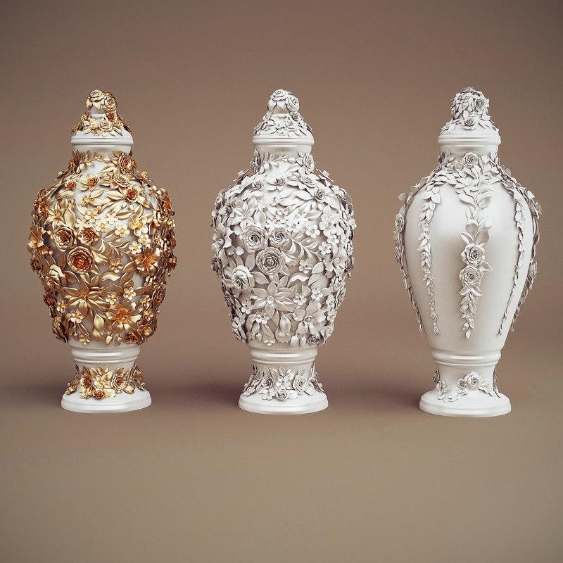 3d jc obj-can vases