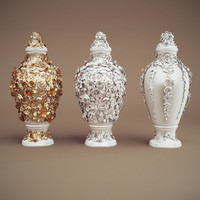 3d jc obj-can vases
