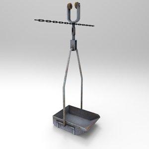hanging pan prop max