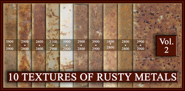 rust metal textures vol.2