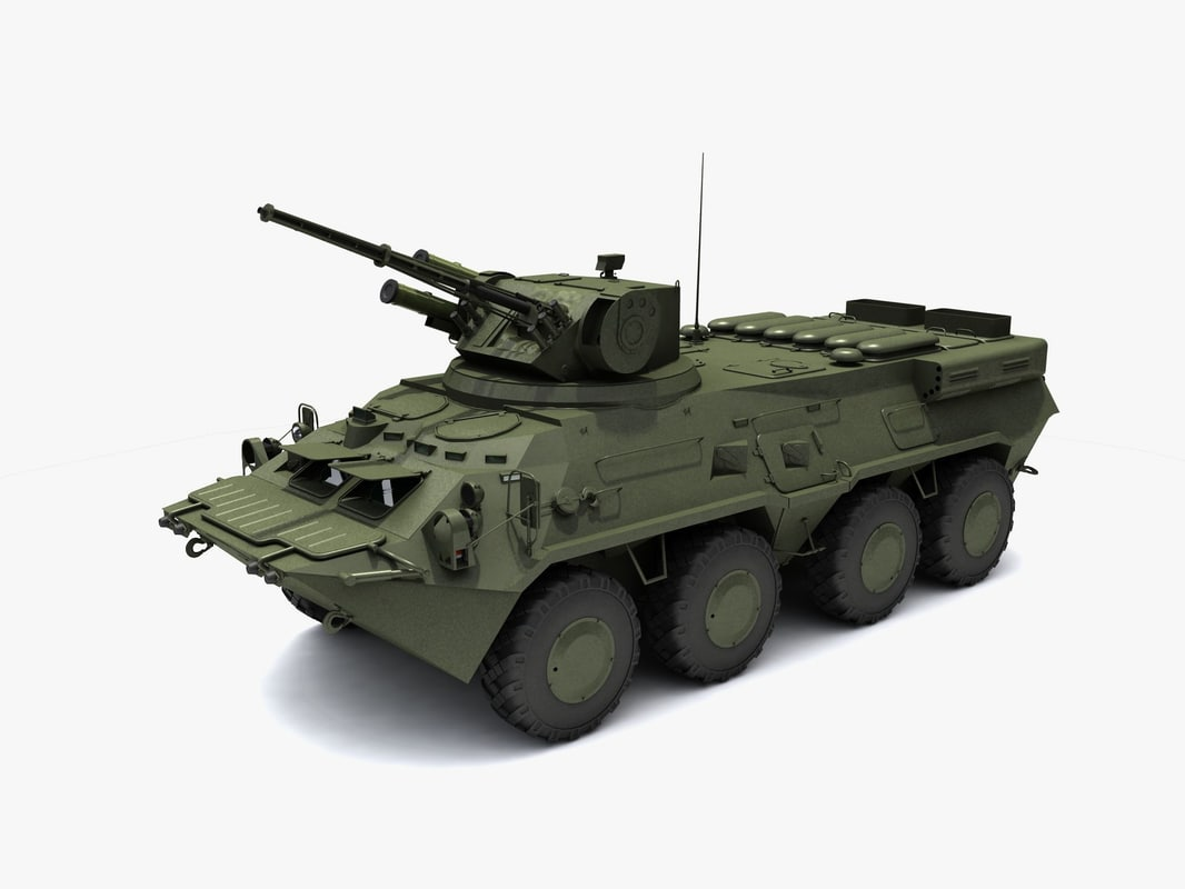 ukrainian national guard 3d model