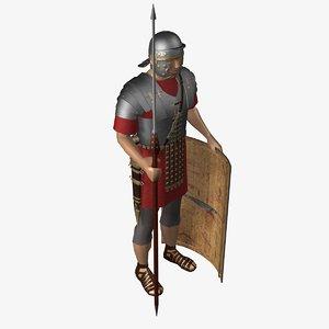 roman legionary obj