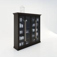 cabinet decoration 3ds