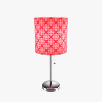 3d model pull-chain table lamp