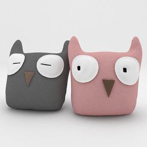 toys owns pillow 3d model