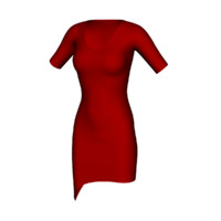realistic dress 3d 3ds
