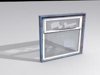 max window broken glass