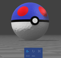 simple great ball 3d model