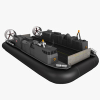 lcac hovercraft 3d max