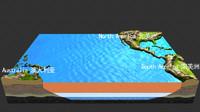 pacific coast pier land 3d max