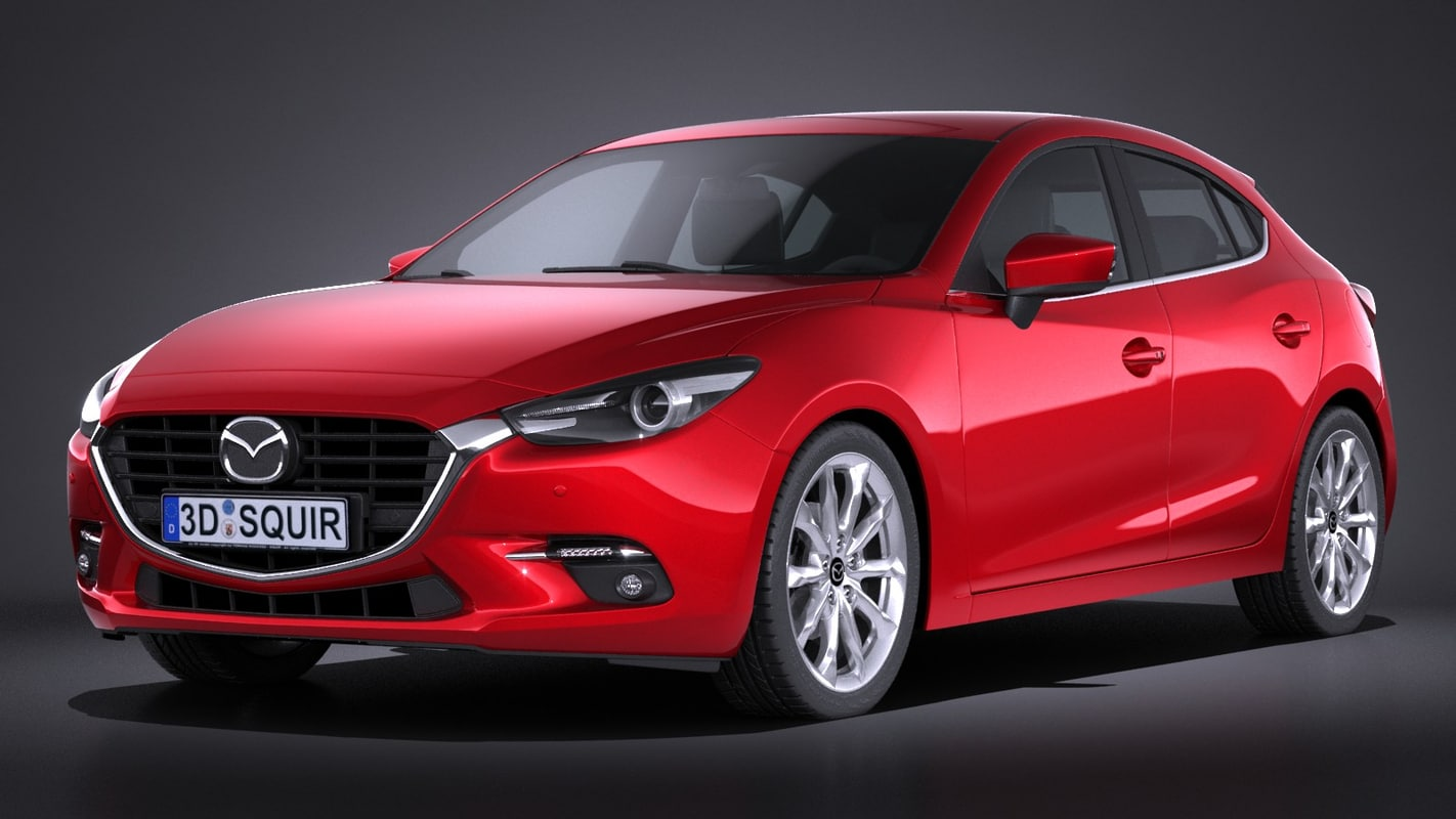 mazda 3 hatchback 3d 3ds