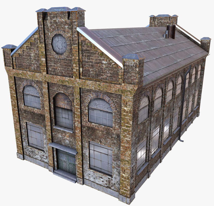 3d old factory ready mobile