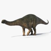 Brontosaurus Rigged