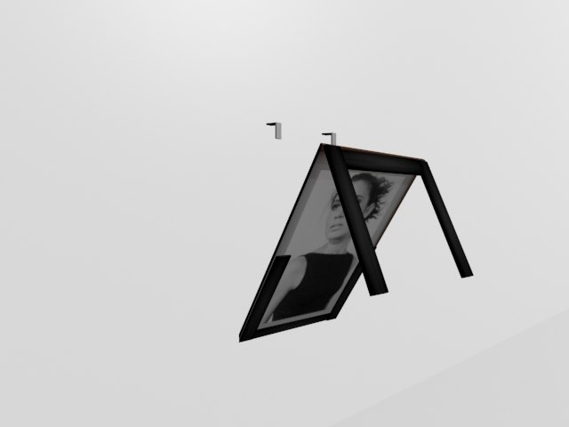 3d suspended table model