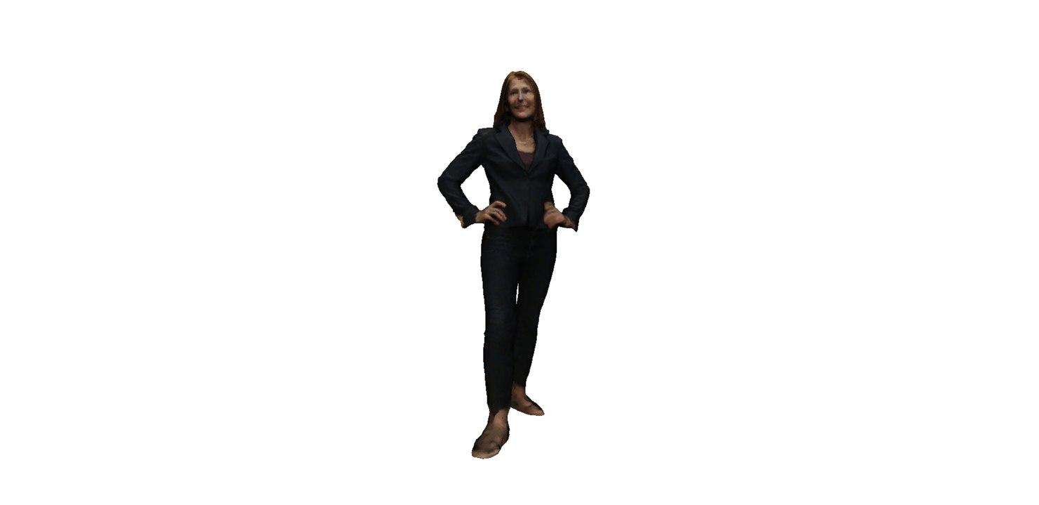 woman 3d 3ds