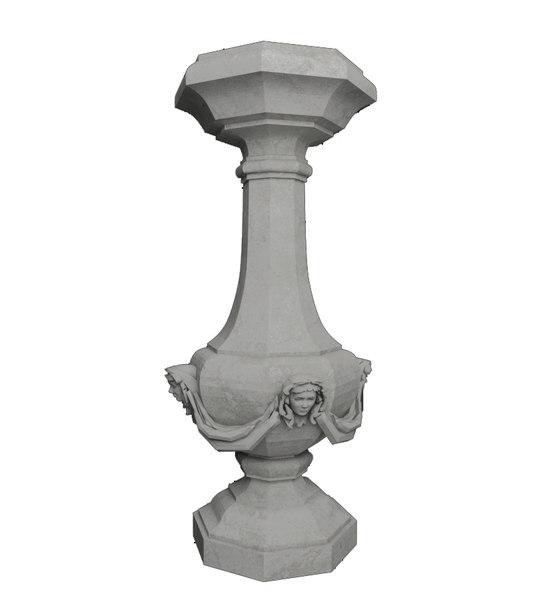 3d model stone realistic