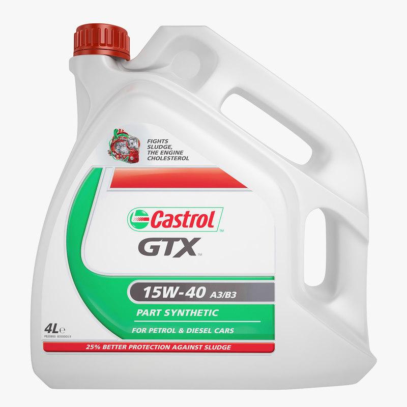 3ds castrol gtx motor