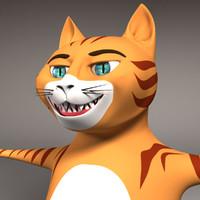 cat feline 3ds