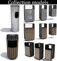 3d street trash -